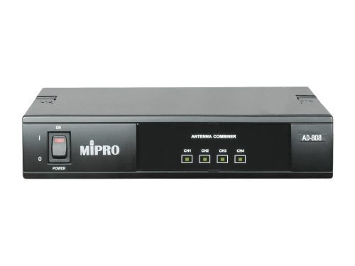 Mipro AD-808 UHF Four Channel Active Antenna Combiner